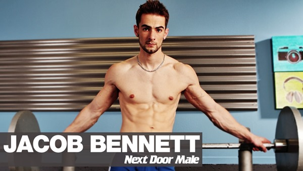 next door male jacob bennett at the gym